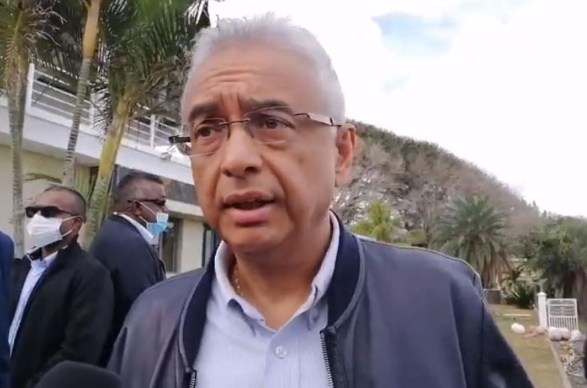 Pravind Jugnauth : Le naufrage du Wakashio représente un danger pour l'île Maurice