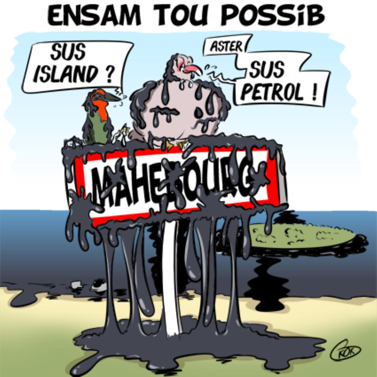 [KOK] Le dessin du jour : Ensam Tou Possib