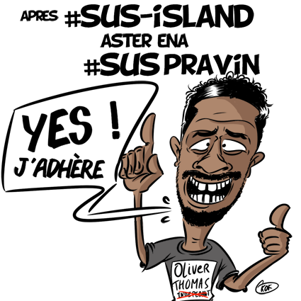 [KOK] Le dessin du jour : Après Sus Island...
