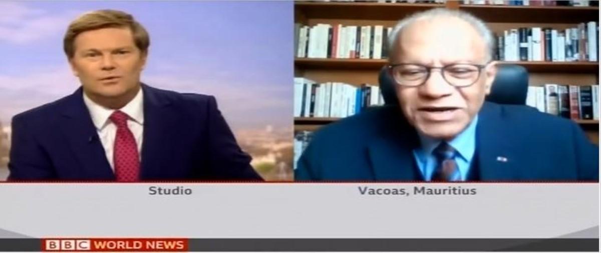Ramgoolam, sur la BBC, tire à boulets rouge sur Pravind Jugnauth