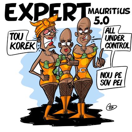 [KOK] Le dessin du jour : Expert Mauritius 5.0