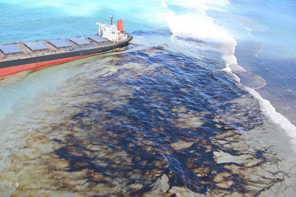 Marée noire à l'île Maurice : Le capitaine du Wakashio arrêté ce mardi