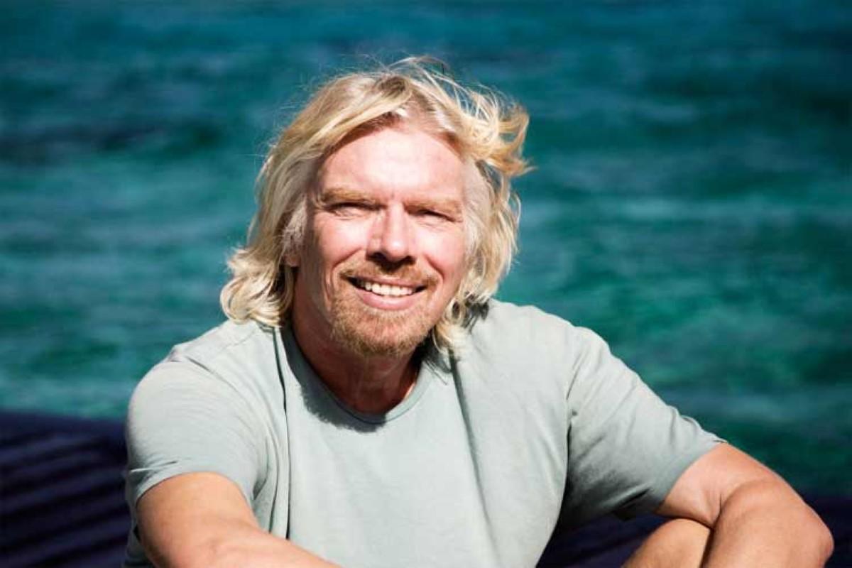 Enter sir Richard Branson, l'aventurier excentrique