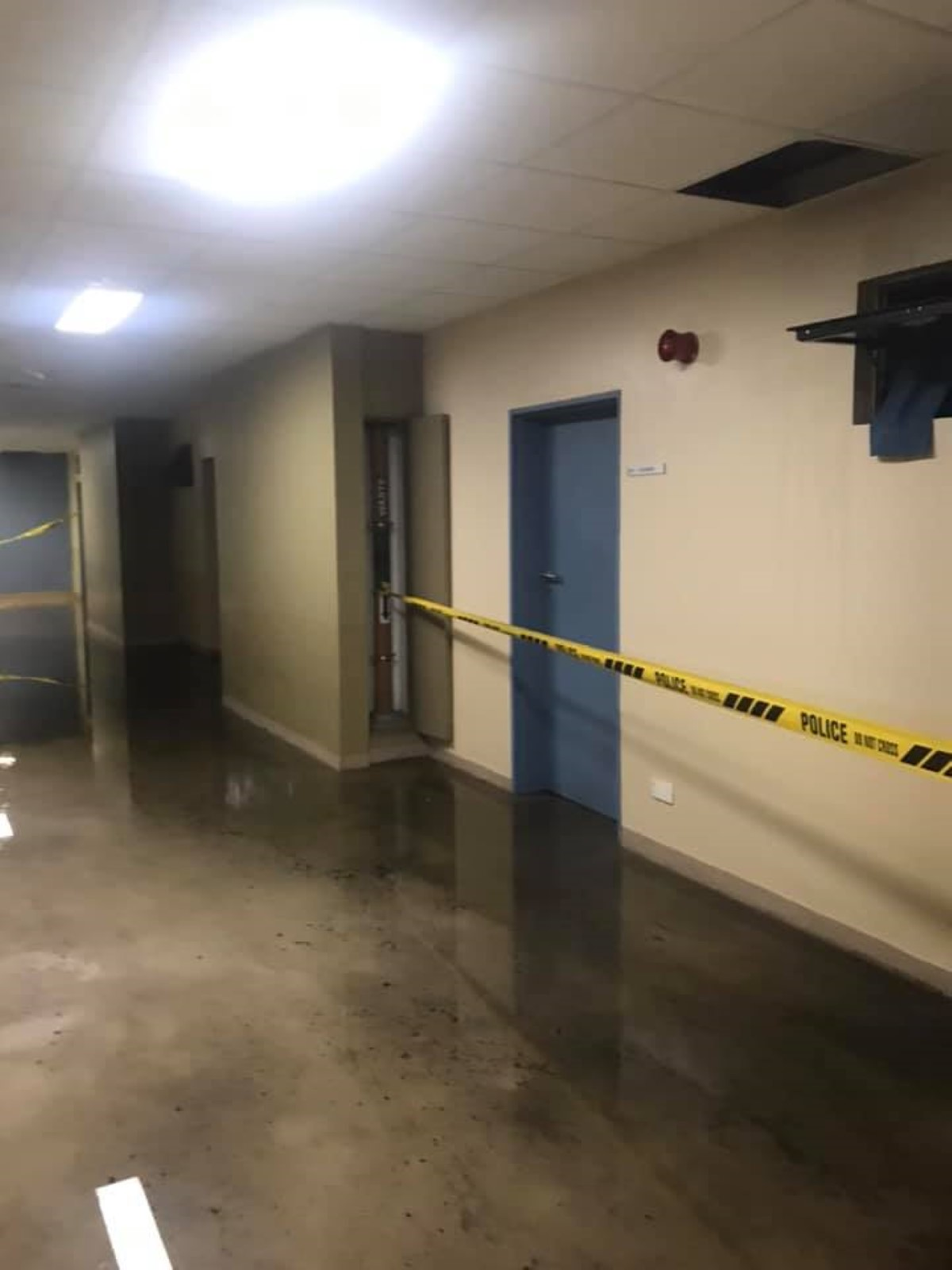 Hôpital Jeetoo : plan d'urgence en cas d'inondation, mais manque de bol c'est le feu