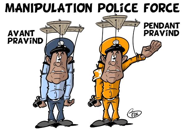 [KOK] Le dessin du jour : Manipulation Police Force