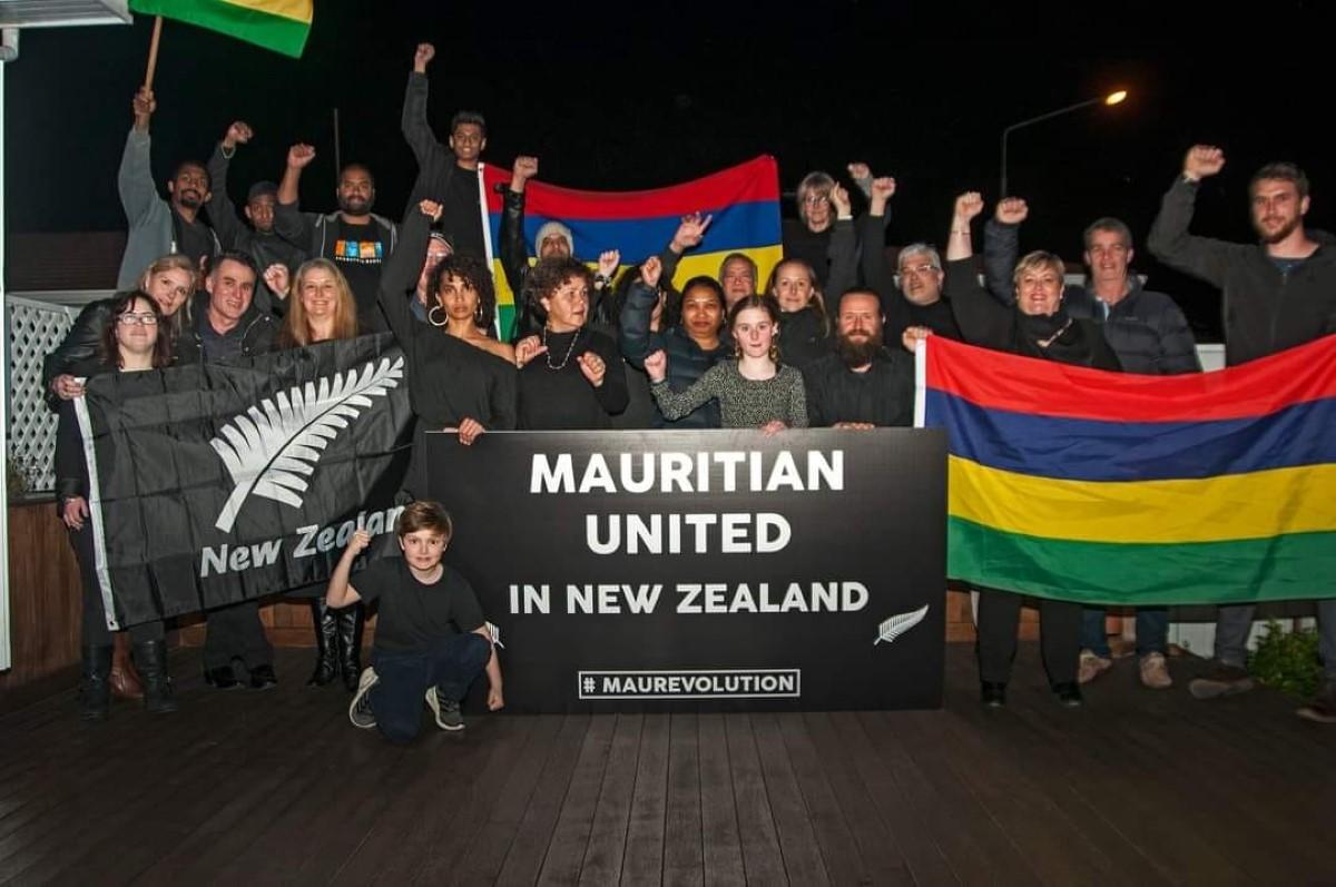 Marche du 29 août : La diaspora en Nouvelle Zélande solidaire