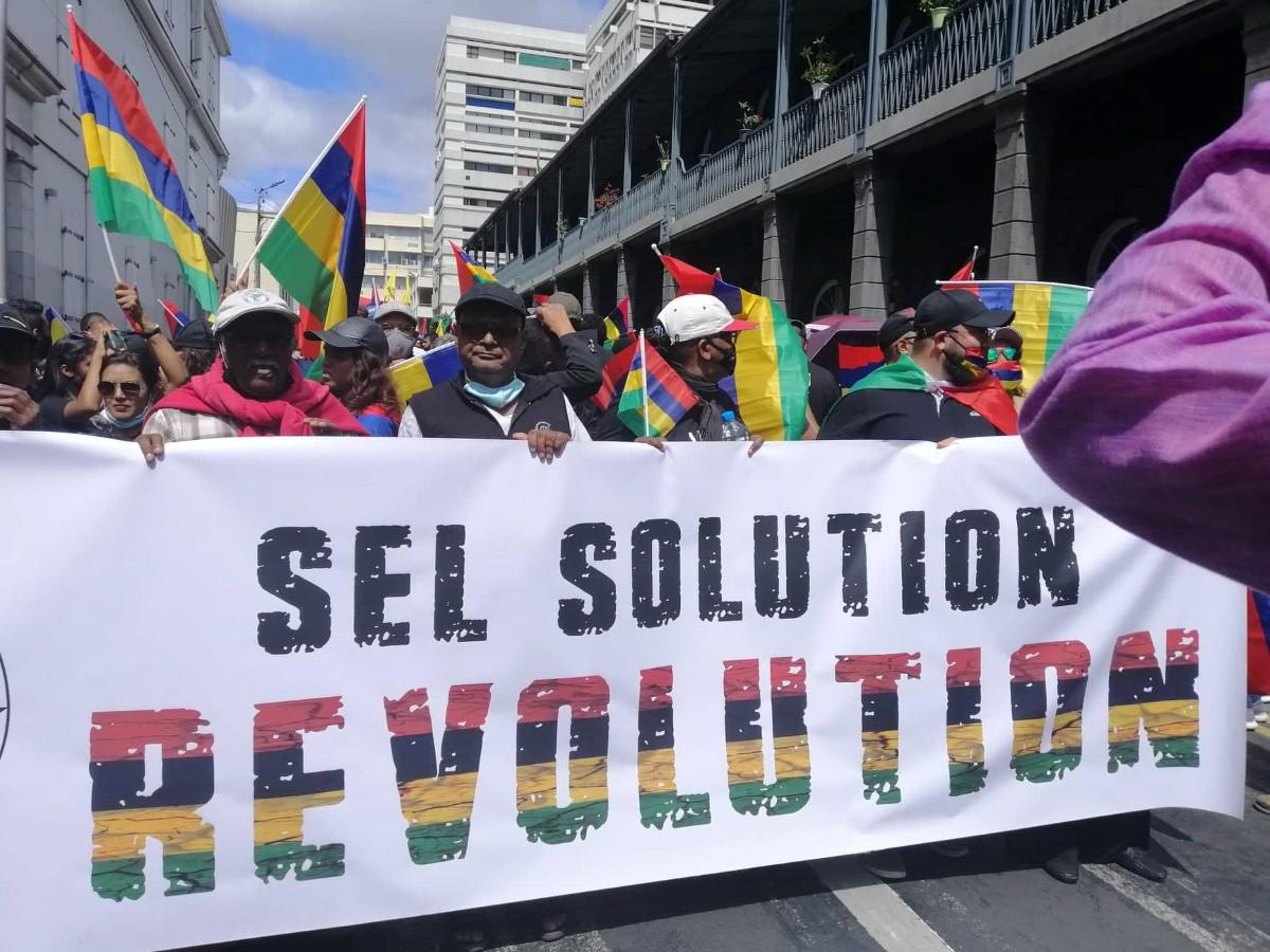 [Diaporama] La Marche du 29 août entre dans l'Histoire de l'île Maurice