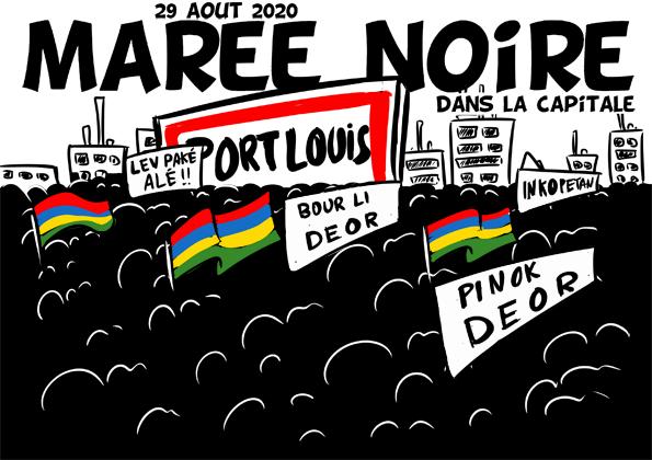 [KOK] Le dessin du jour : Marée noire dans la capitale