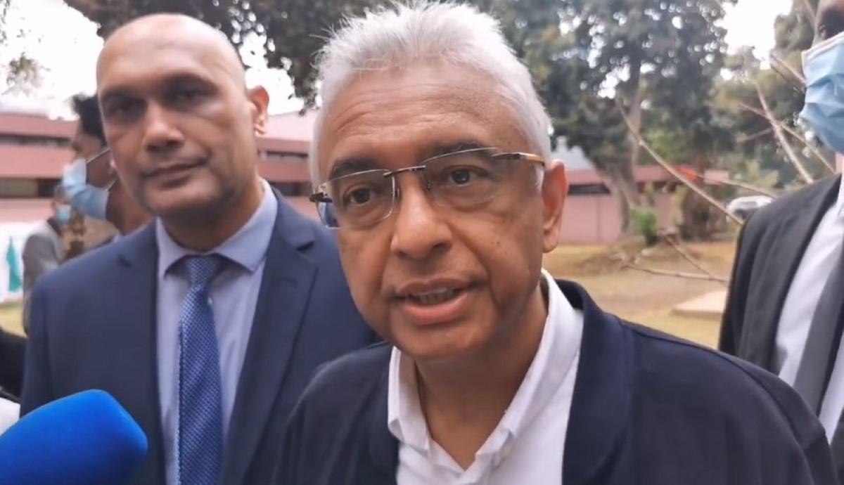 Pravind Jugnauth garde espoir que les disparus seront retrouvés vivants