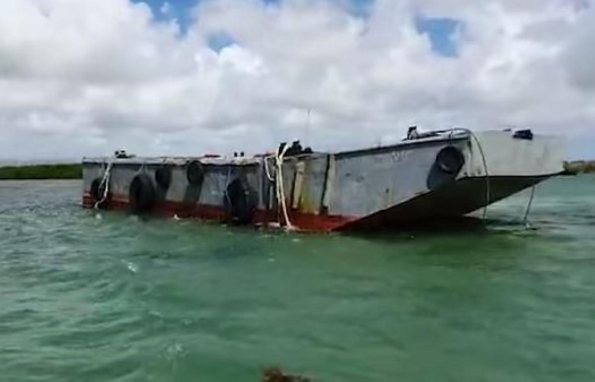Drame en mer à Poudre d'Or : La barge appartient à Taylor Smith