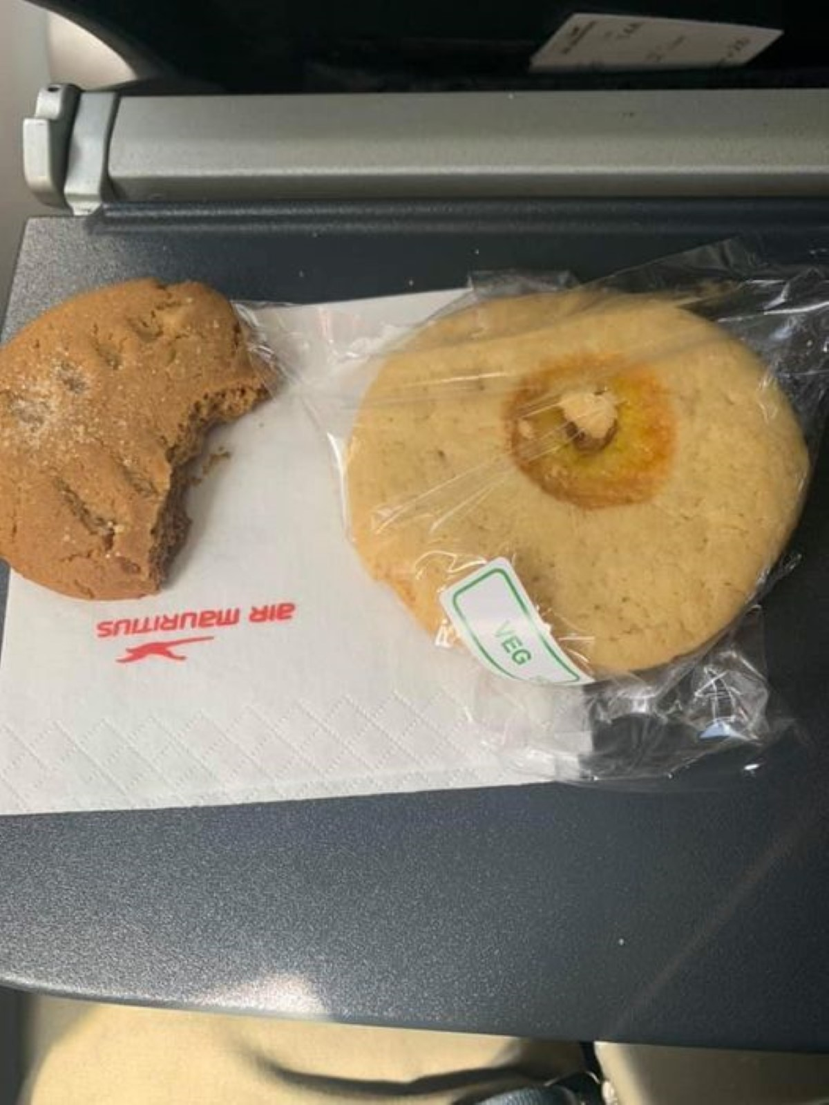 Air Mauritius : régime minceur sur le vol de Rodrigues, biscuits secs et un verre d'eau
