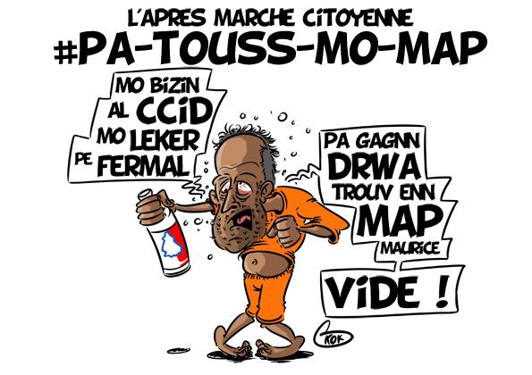 [KOK] Le dessin du jour : #Pa touss mo map