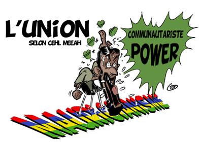 [KOK] Le dessin du jour : L'union nationale selon Cehl Meeah