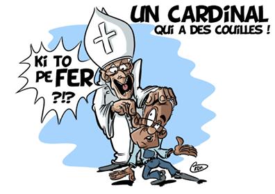 [KOK] Le dessin du jour : «Le peuple Moris pe souffer»
