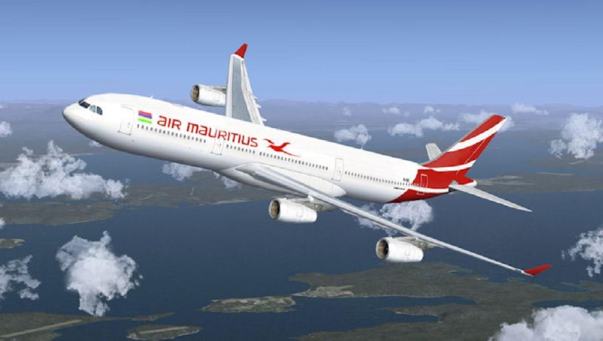Des employés d'Air Mauritius votent pour une manif