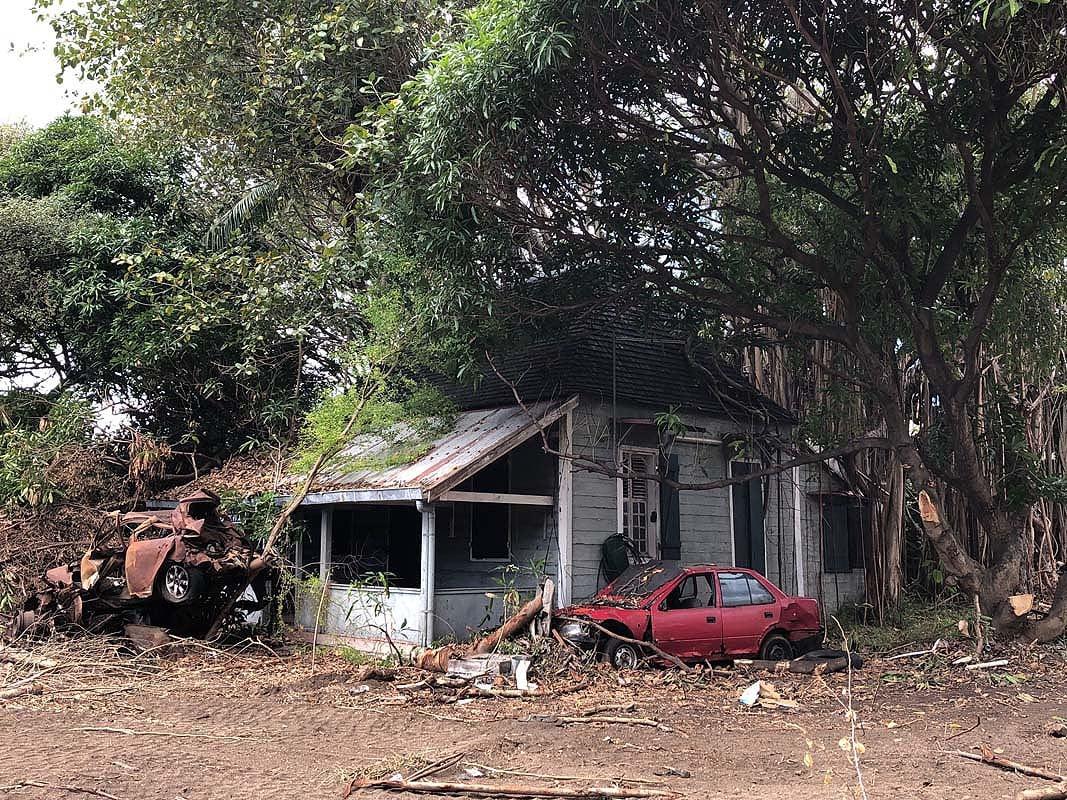 Patrimoine: l'ancienne station de Police à Rivière Noire tombe en ruine dans l'indifférence générale