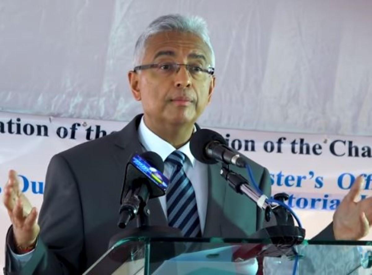 """Sur le dossier Chagos, Pravind Jugnauth déclare: """"L'argent ne peut acheter la conscience, la dignité ou le droit"""""""
