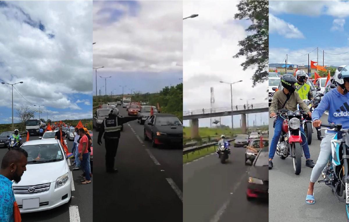 """La police «ouvre une enquête» sur un """"rallye"""" organisé à Grand-Bassin sous la responsabilité des forces de l'ordre"""
