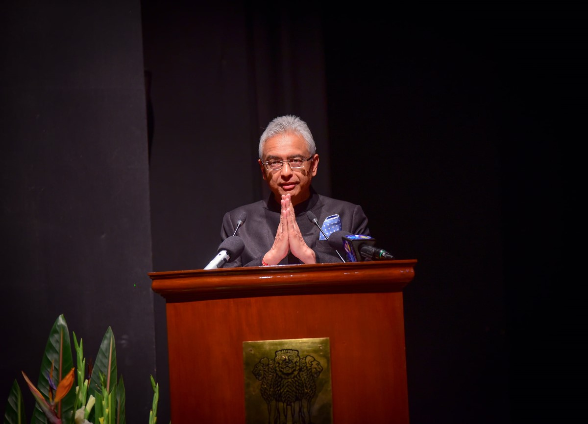 De qui Pravind Jugnauth fait-il référence : «Ne pas laisser les forces occultes déstabiliser la paix dans notre pays»