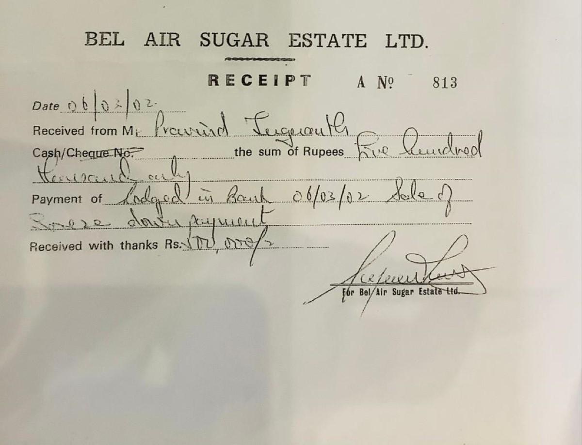 Angus Road : le terrain du couple Jugnauth payé Rs 3,5 millions en cash