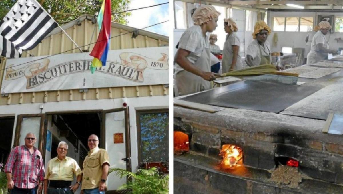 [Vidéo] La Biscuiterie Rault (Les Traditionnels Biscuits Manioc) fête ses 150 ans