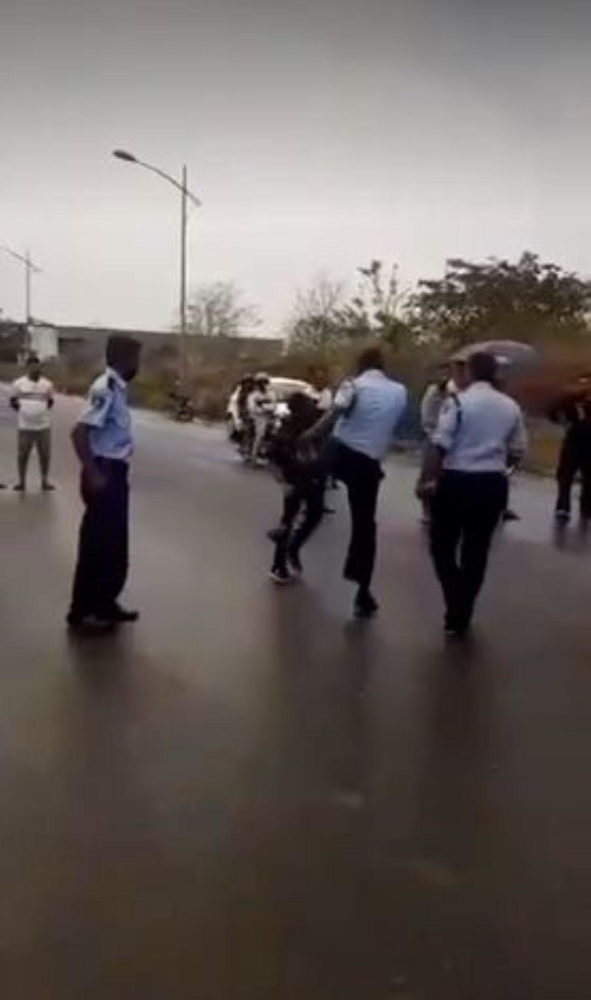 [Vidéo] Fast and Furious à Jin Fei : les gifles et un coup de pied par un policier font polémique