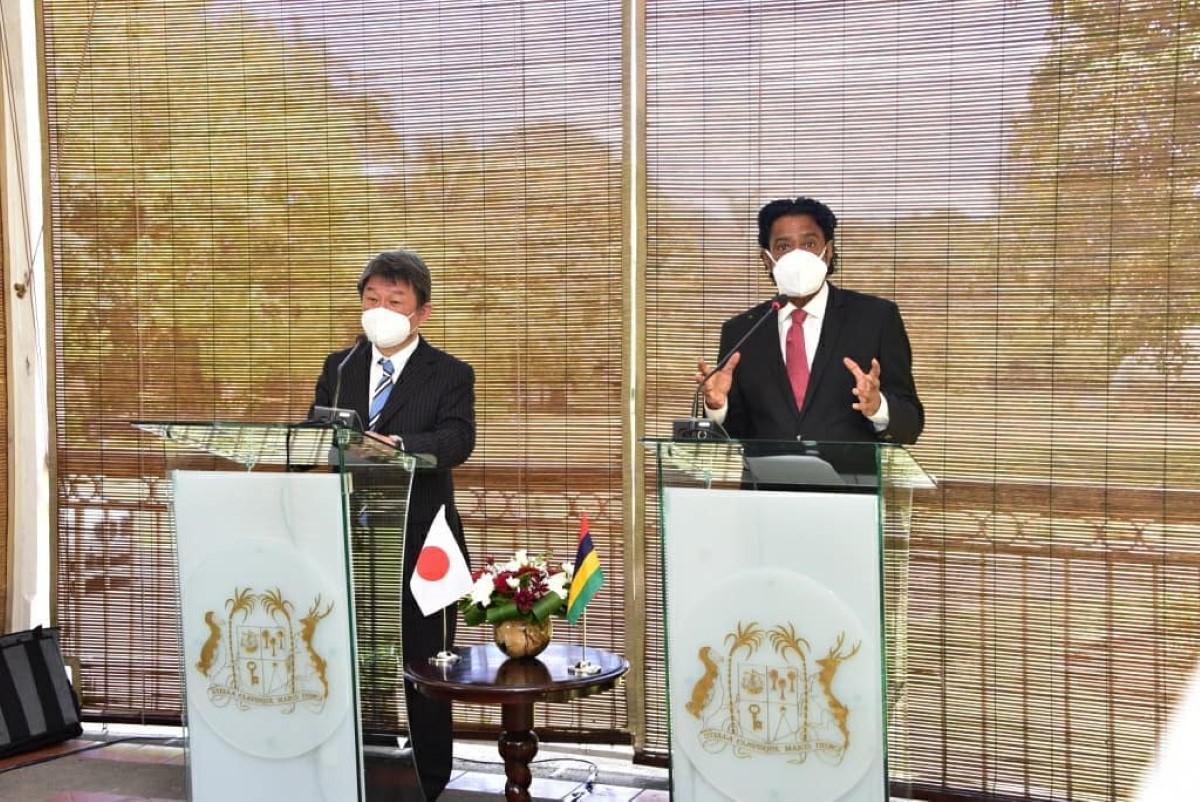 L'île Maurice sur la liste noire de l'UE : Nando Bodha demande l'aide du ministre des Affaires étrangères japonais