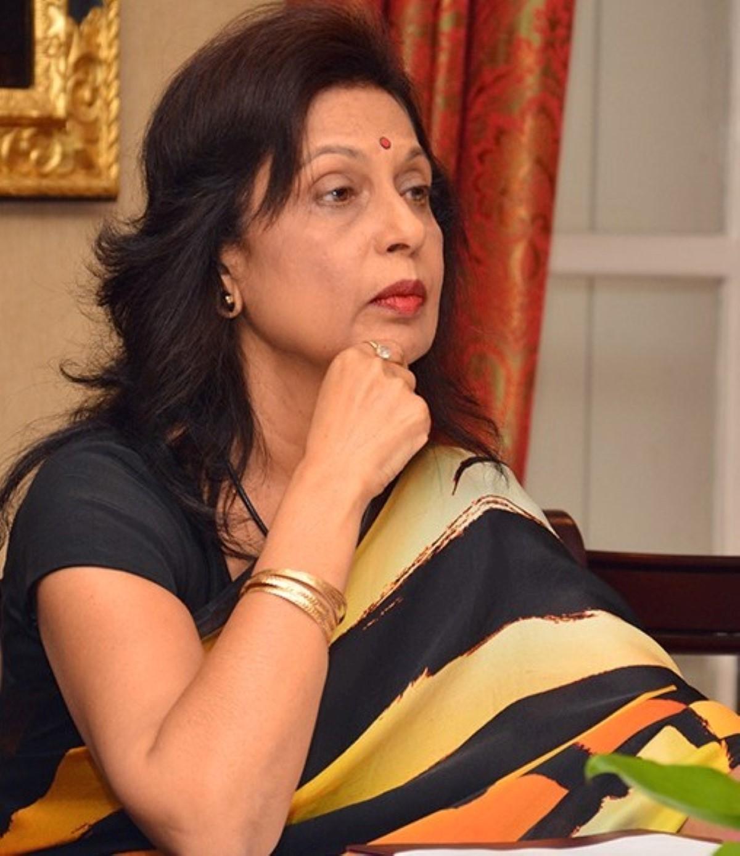 Le Haut commissaire en Inde, Maya Hanoomanjee de retour au pays depuis le mois d'août fait du télé travail