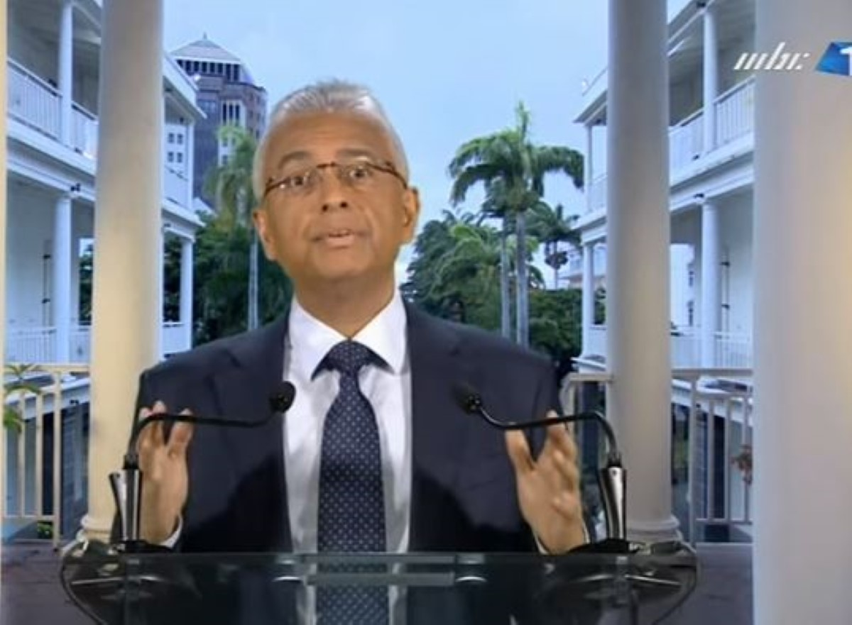 Allocution de Pravind Jugnauth à la nation : moralisateur et règlement de comptes