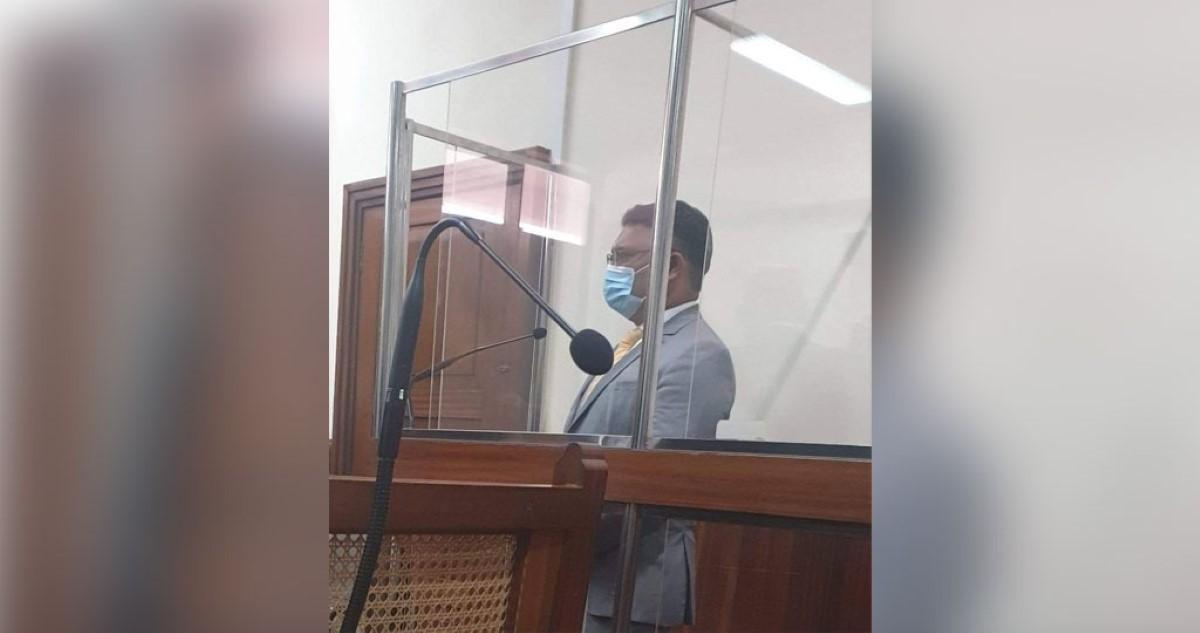 Raouf Gulbul indigné de voir circuler la photo de Yogida Sawmynaden dans le box des accusés