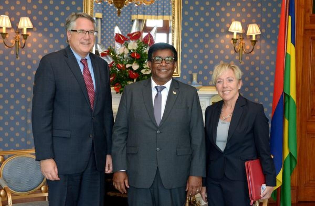 David Dale Reimer, le Haut Commissaire américain à l'île Maurice fait ses adieux