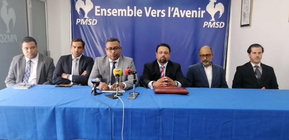 Prosecution Commission : le PMSD veut sonner les trompettes de Jéricho