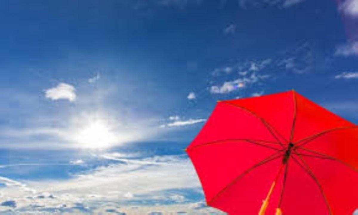Vague de chaleur avec des températures jusqu'à 35°C