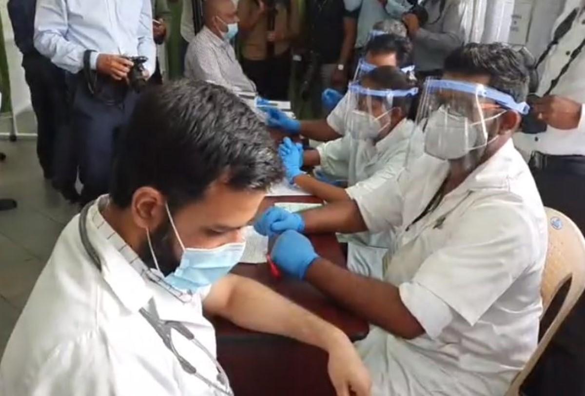 Lancement de la campagne de vaccination contre la Covid-19 à l'île Maurice