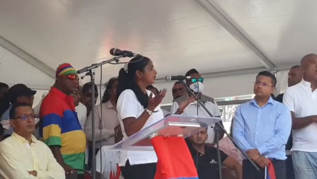 Sonja Cunniah-Lazare lance un cri du coeur à Sarojini Jugnauth