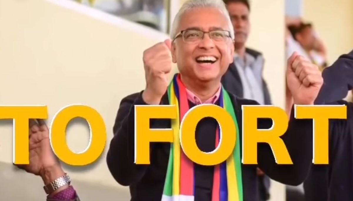 """[Vidéo] Clip de propagande du MSM : """"Pravind to fort"""""""