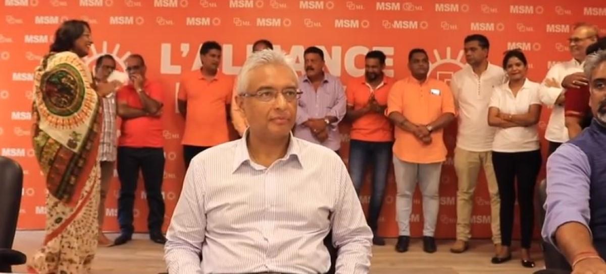« Je n'ai aucune intention de tenir des législatives anticipées » déclare Pravind Jugnauth