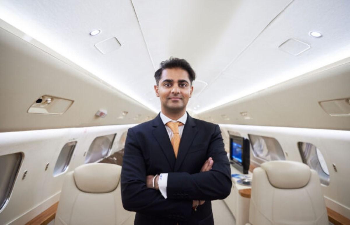 Le jeune Ameerh Naran étend sa filiale d'aviation privée de luxe Vimana à Maurice