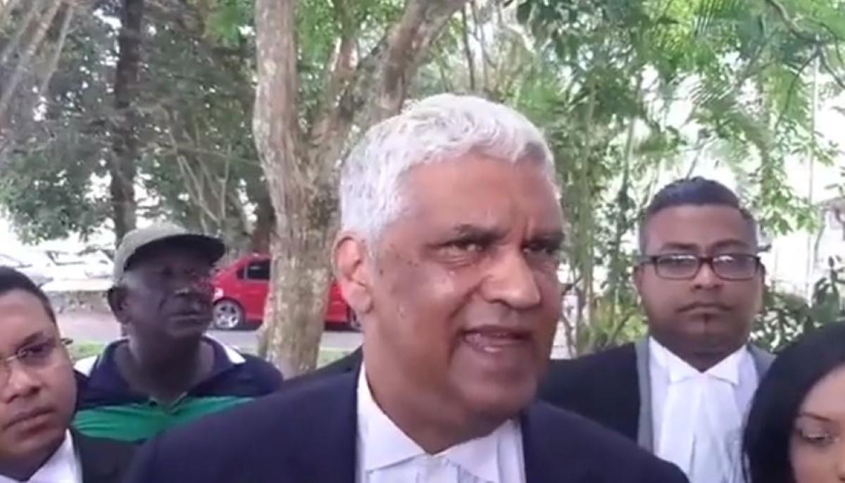 Rama Valayden apporte son soutien mais ne participera pas à la Marche du 13 février