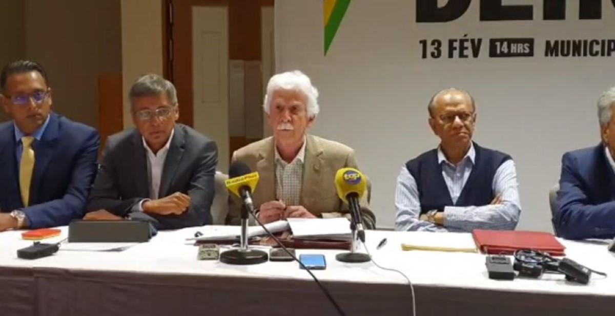 Bérenger : « L'union des politiques et des forces citoyennes est une première »