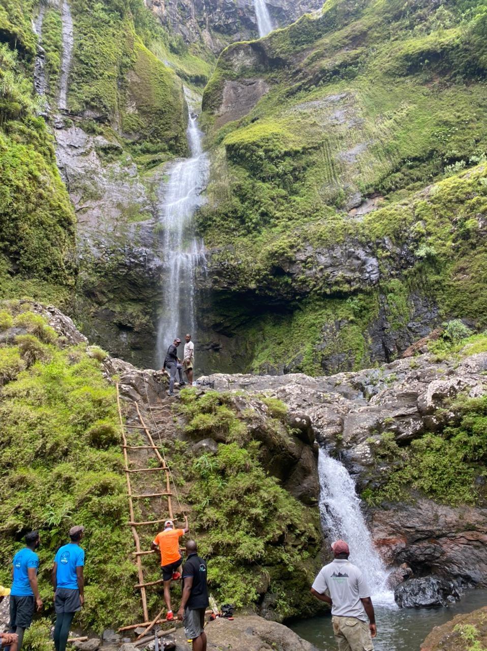 Restriction de l'accès du site de la cascade des galets (500 pieds) au public