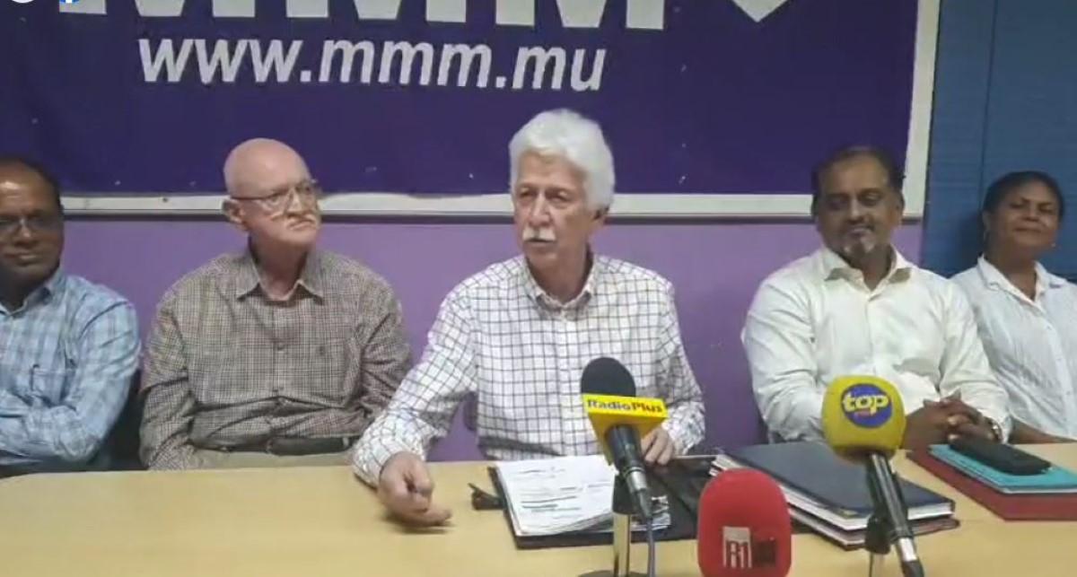 Le MMM demande à Boolell de reprendre sa lettre de démission