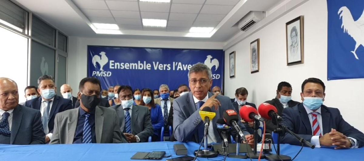 Xavier Duval est confiant que les : « quatre partis se remettront ensemble »