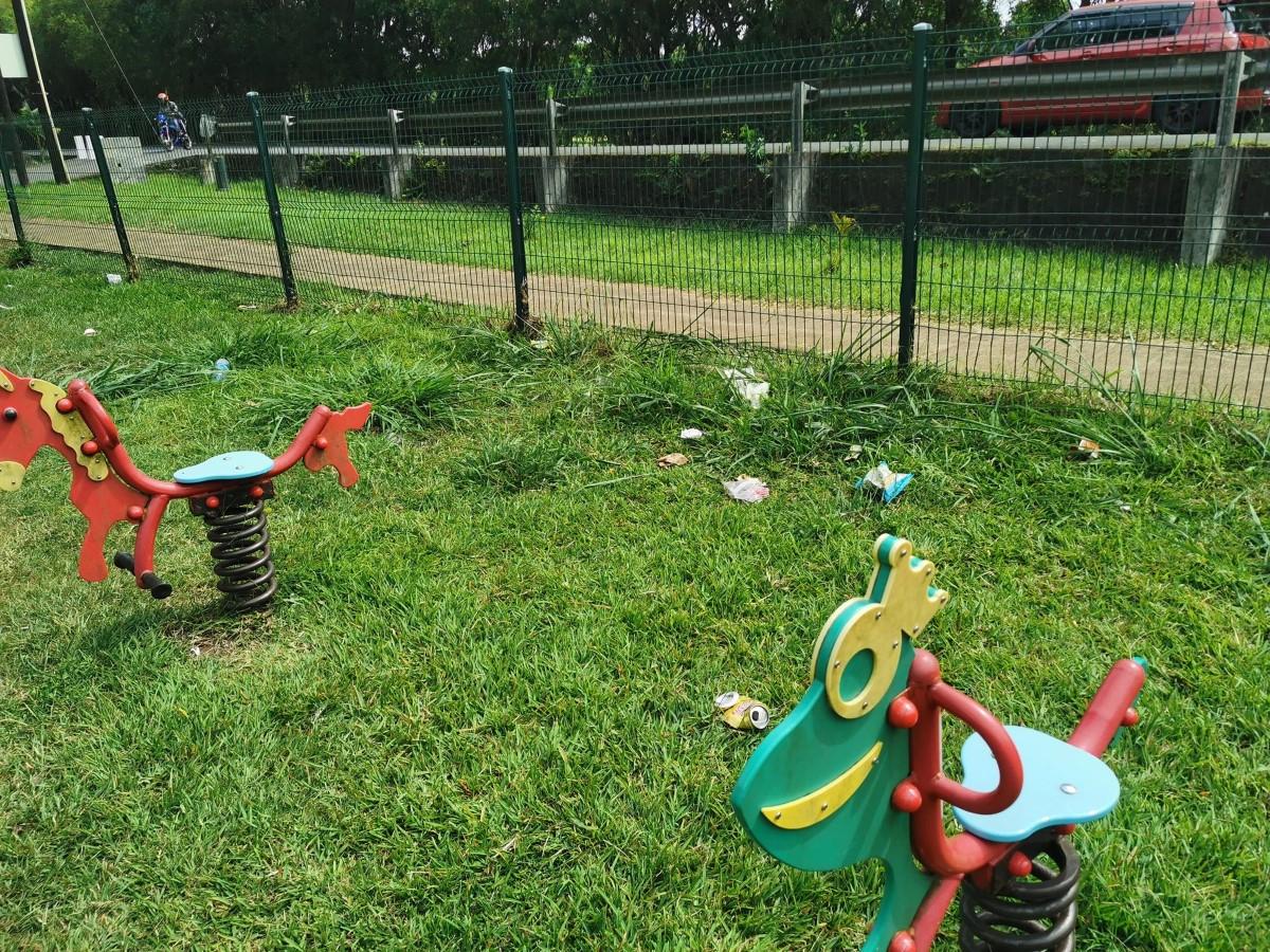 [Diaporama] Vacoas/Phoenix : le jardin d'enfants transformé en forêt amazonienne
