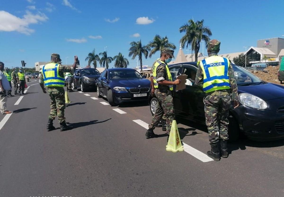 L'île Maurice un état policier : Non-respect du confinement, toute condamnation figurera sur le certificat de moralité