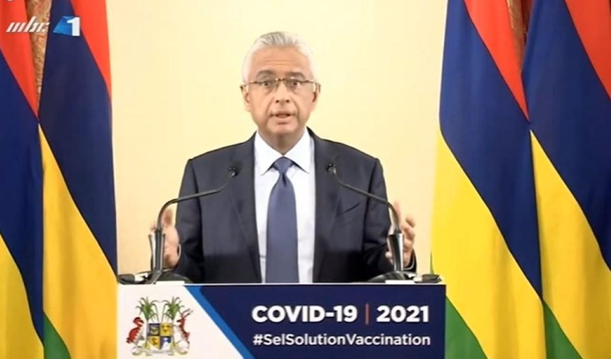 Pravind Jugnauth annonce le prolongement du confinement sanitaire à Maurice jusqu'au 31 mars 2021