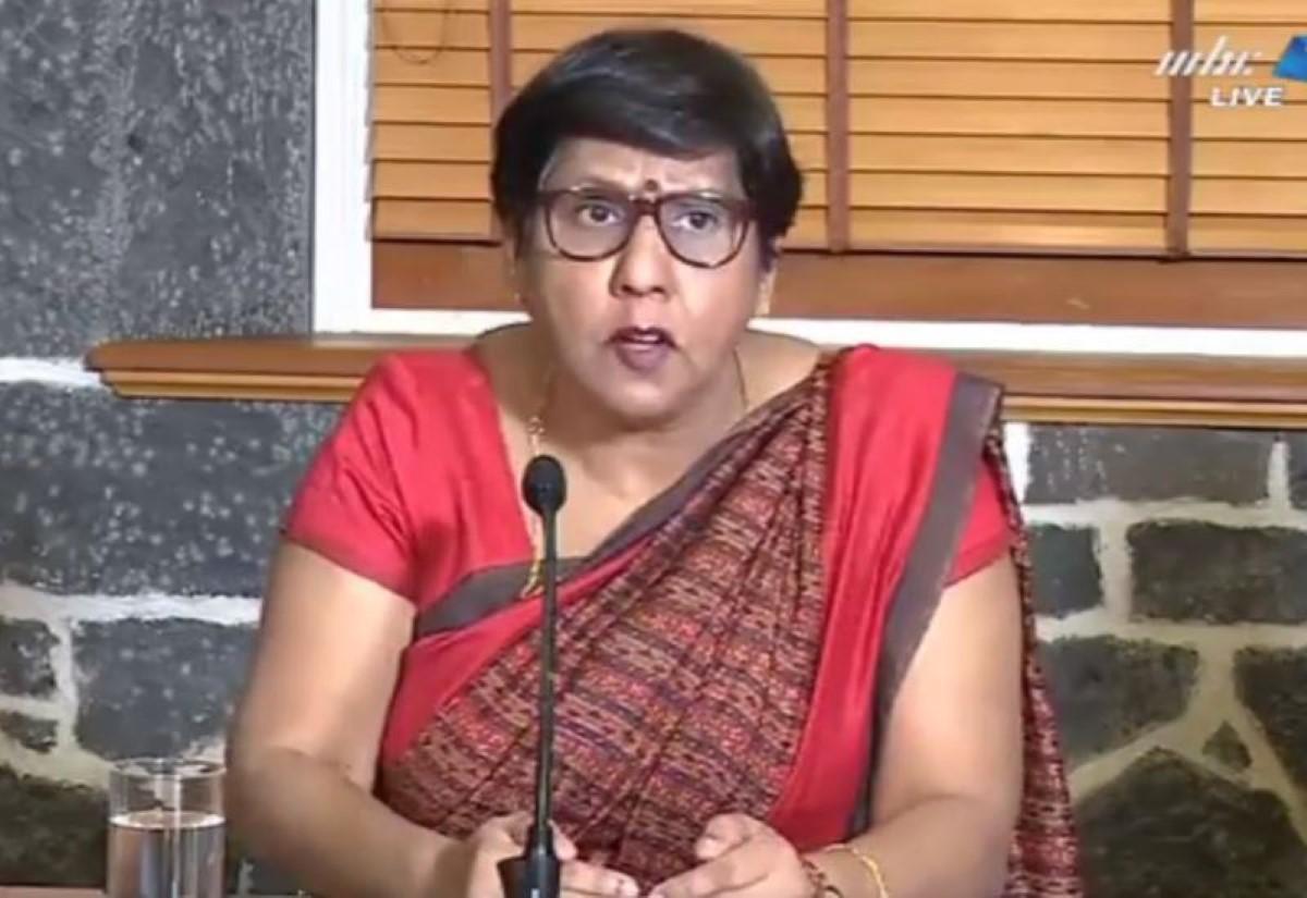 La ministre Leela Devi Dookun Luchoomun rassure : la surveillante « n'a pas été en contact avec les autres enfants »