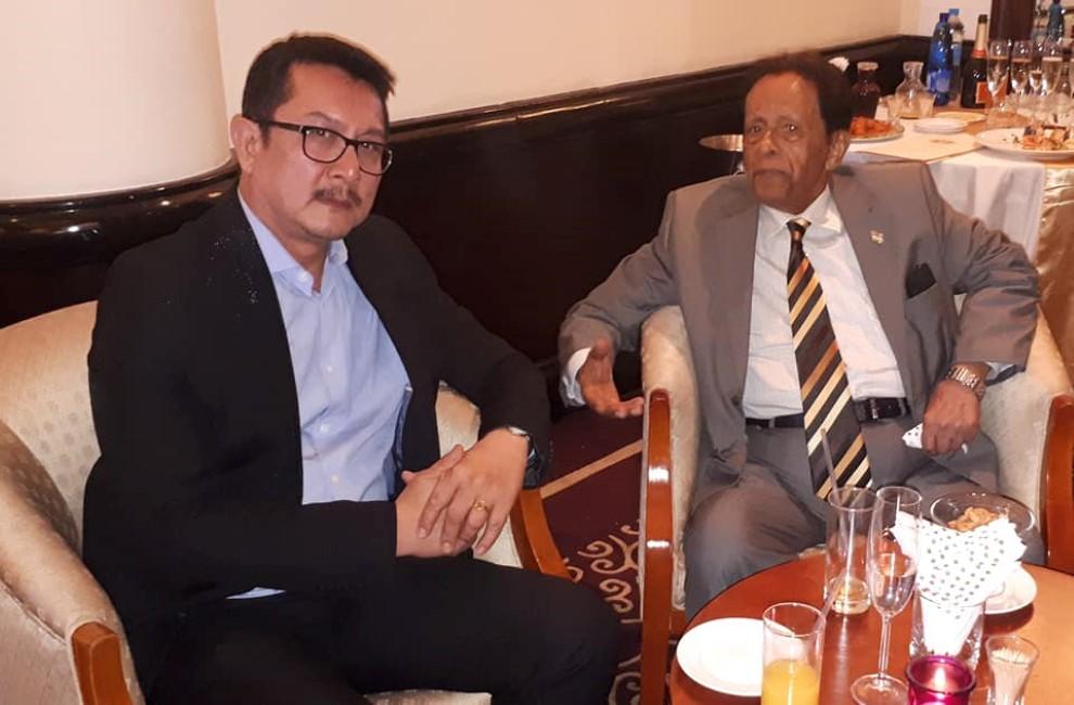 L'avocat Dick Ng Sui Wa, Chairman de l'ICTA et SAJ