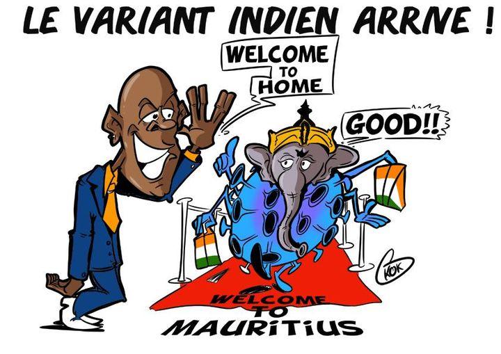L'actualité vu par KOK : Le Variant Indien arrive !
