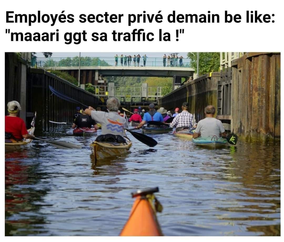 Des « mèmes » dédiés au secteur privé pour la journée de ce mercredi